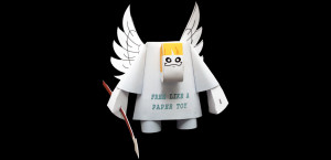 Free like a paper toy, 2009.